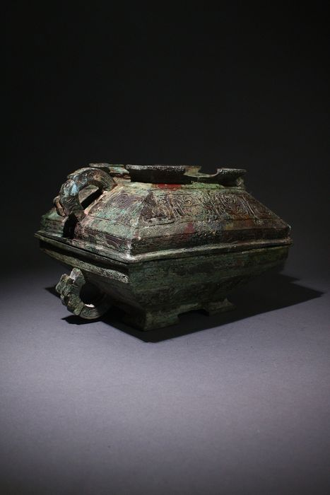 Vessel - Bronze - China - 21st century