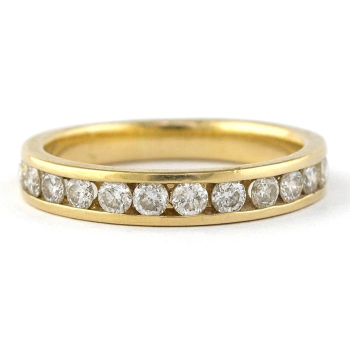 Luxury Engagement - *Low Reserve Price* - 18 kt. Yellow gold - Ring Diamond