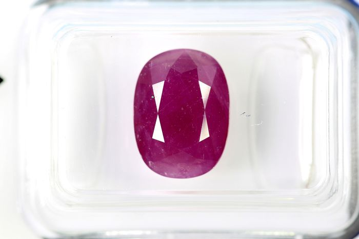 No Reserve Price - Ruby - 4.70 ct