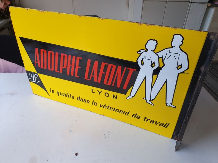 Adolphe Lafont Emaillerie Alsacienne - Advertising board enamel (1) - Enamel