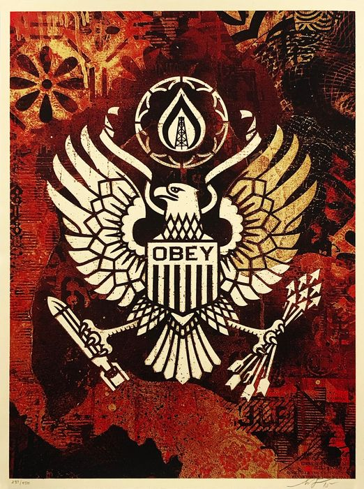 Shepard Fairey (OBEY) - 'Keep it Underground'