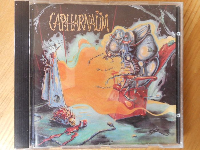 Capharnaum - French Trash Metal - - Rare 1st CD Album - Signed - Only 600 copies - - Multiple titles - CD - 1993/1993