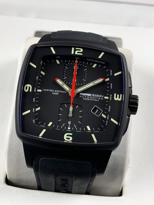 MomoDesign - Titan Chronograph Limited Edition - MD376 - Heren - 2011-heden