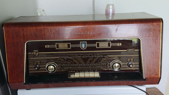 Philips - B5X62A - Tube radio