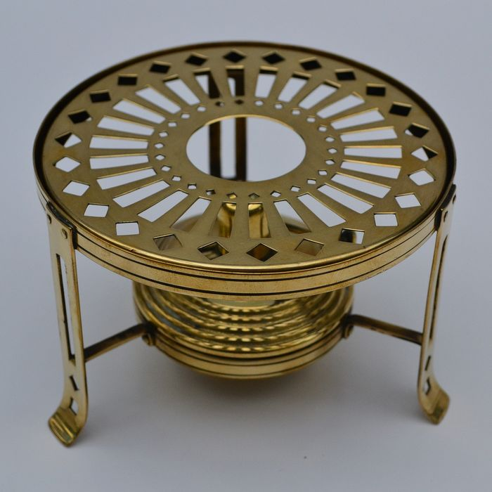 warming stand (1) - Art Deco - Brass