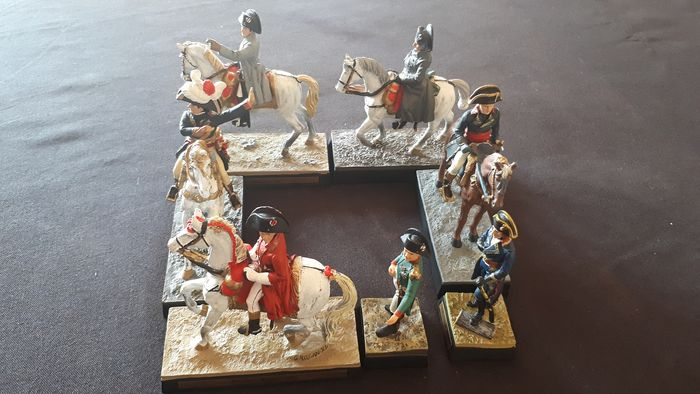 Napoleon lead soldier collection (7) - Lead