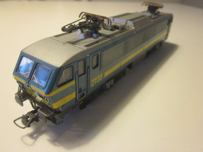 Lima H0 - 8023 LP - Electric locomotive - Series 27 - NMBS