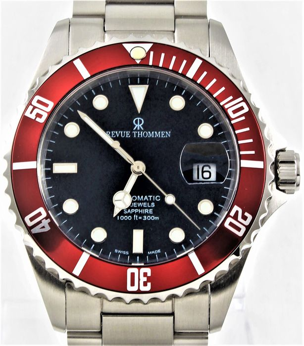 Revue Thommen -  XL Diver Automatic  - Ref. No: 17571.2136 - Never Worn - Herren - 2011-heute