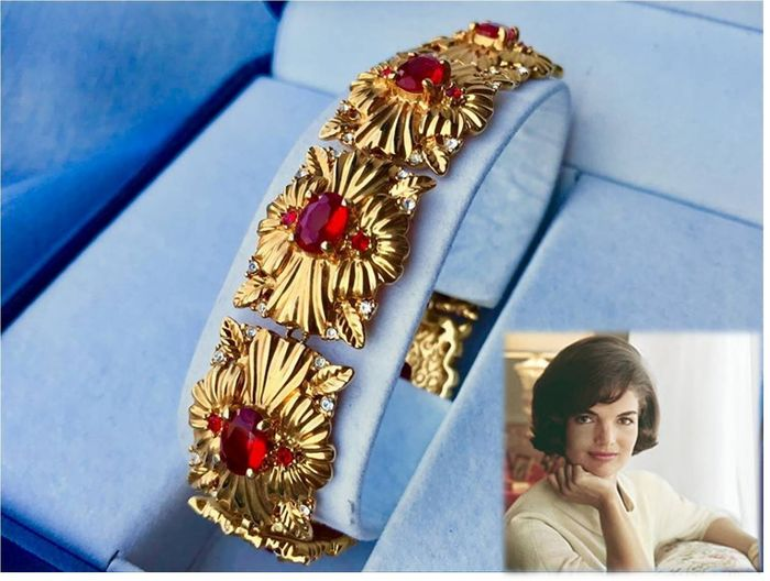 CAMROSE and KROSS - Jacqueline Kennedy Collection Gold-plated, Swarovski Crystals - Bracelet