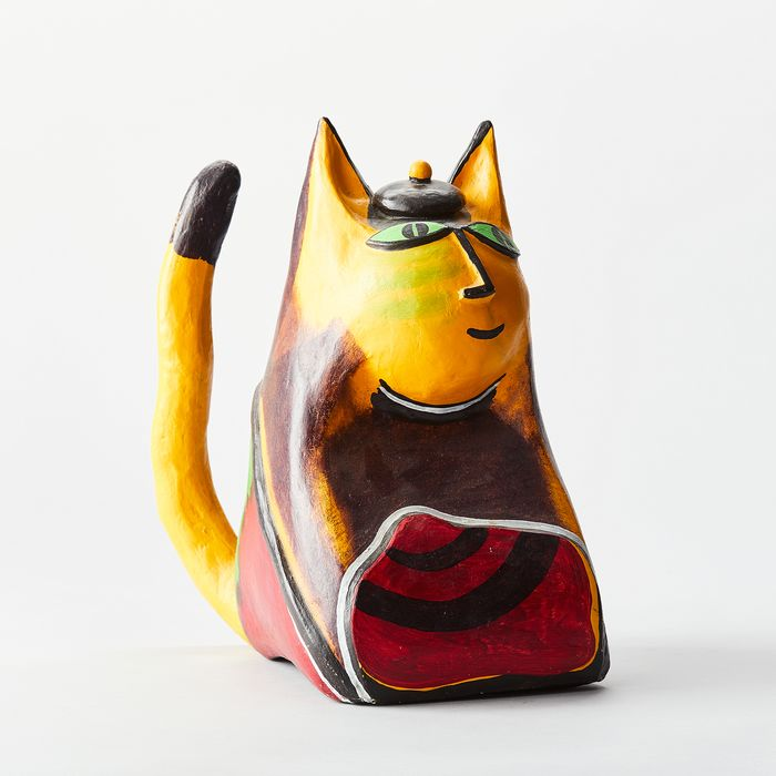Corneille - Cat sculpture