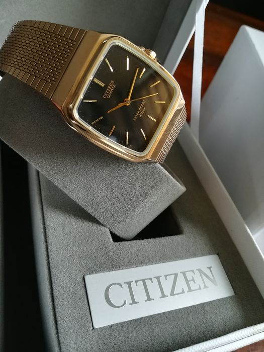 Citizen - Dress watch roze goud verguld  - T4-G02646 K - Men - 1980-1989