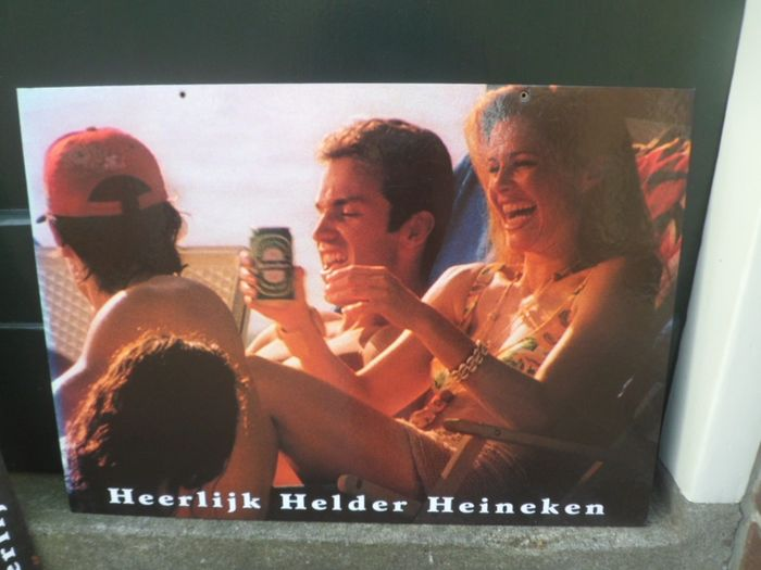 Heineken bier - Set of Heineken billboards / posters (3) - Cardboard