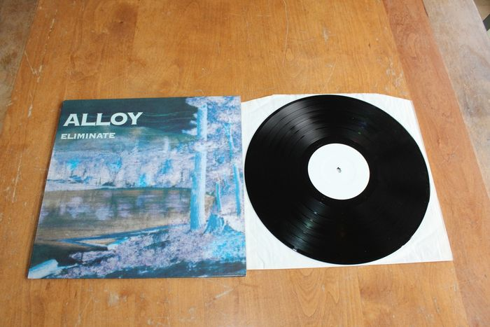 Alloy - Eliminate - LP Album, Test pressing - 1992/1992