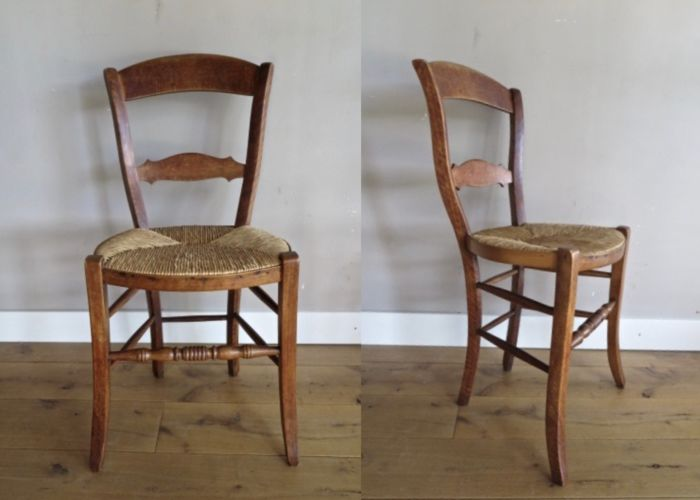 Two seats - Wood and Reed