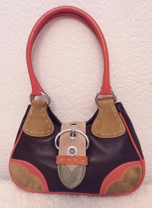 Prada - Prada Vitello Daino Moon Bag Handbag