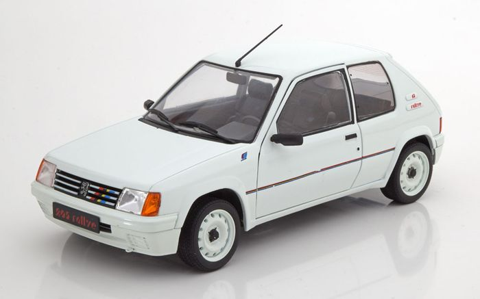 Solido - 1:18 - Peugeot 205 GTI  1.9 Phase1 - 1.9 Phase1 - White