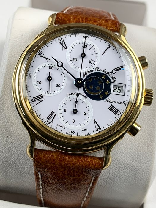 Chronoswiss - Alfred Rochat & Fils Moonphase Automatic - 77.500 - Herren - 1980-1989