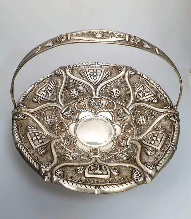Basket - .833 silver - Portugal - Late 19th century