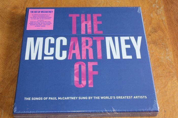 Various Artists/Bands in 1980's - The Art of Paul McCartney 4LP - LP Box set - 2014/2014
