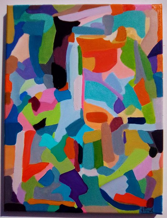 Anne Picard - Abstraction  composition
