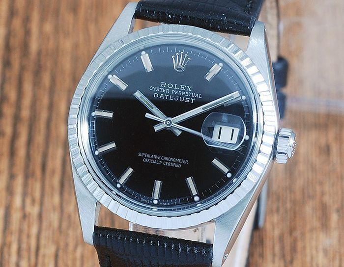 Rolex - Oyster Perpetual DateJust Wide Boy - 1603 - Hombre - 1970-1979