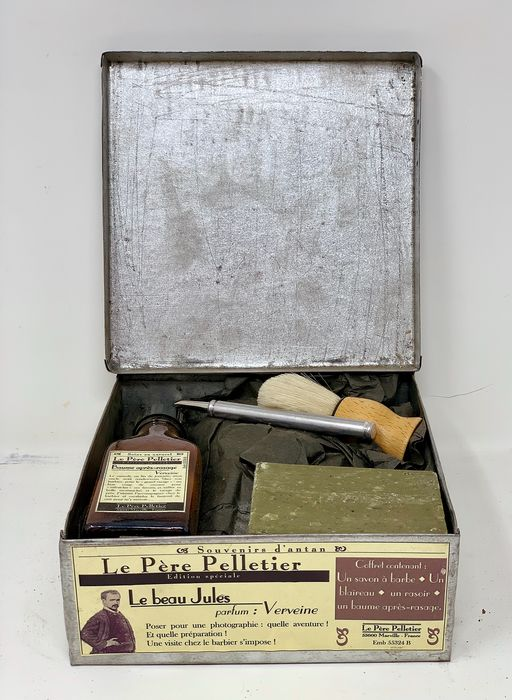 D´Antan - Old Barber Box - Crystal, Steel (stainless)