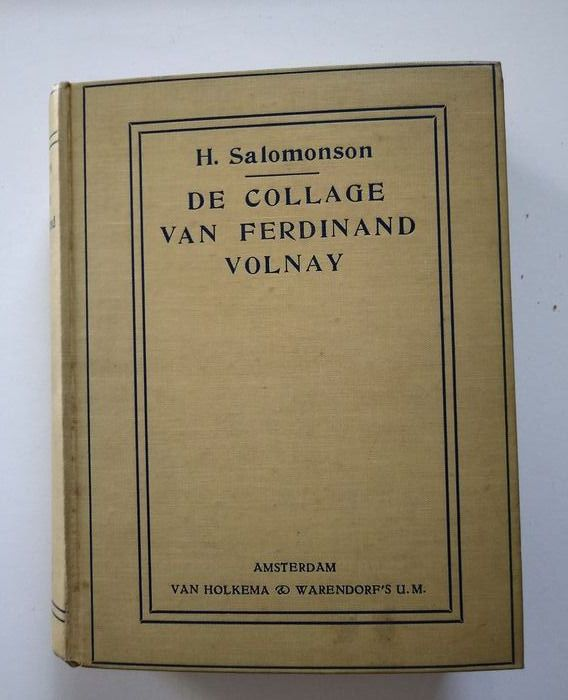 Couperus; Herman Salomonson - De collage van Fernand Volnay - 1916
