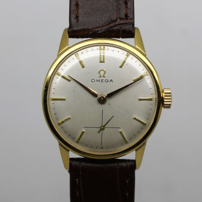 """Omega - Cal. 268 (30T2) - """"NO RESERVE PRICE"""" - Hombre - Ano 1961"""