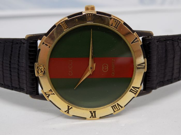 Gucci - Gold plated - model no. 3200M (Mens) - Unisex - 1980-1989