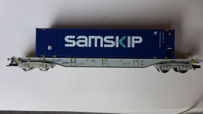 Herpa H0 - 3714 - Freight carriage - Container truck from Samskip International - NMBS