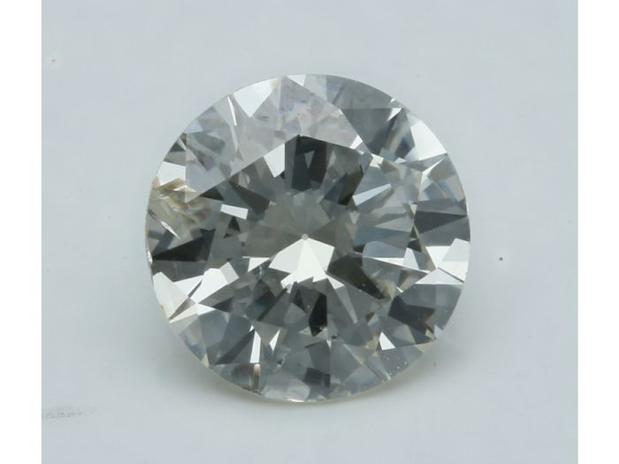 1 pcs Diamant - 0.99 ct - Brillant - J - I1
