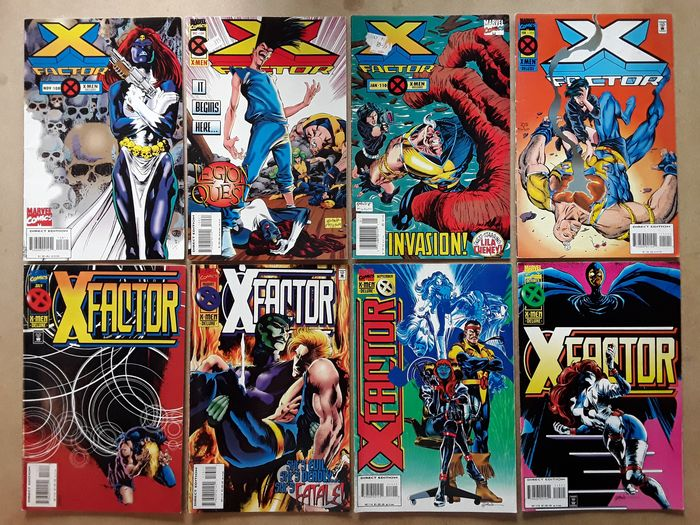 X-Factor - 42X Complete Run -#108-149 - Rogue, Nightcrawler, Sabretooth, Nick Fury, Legion, Forge, Polaris, Mystique, Wild Child, Fatale - Softcover - Erstausgabe - (1994/1998)