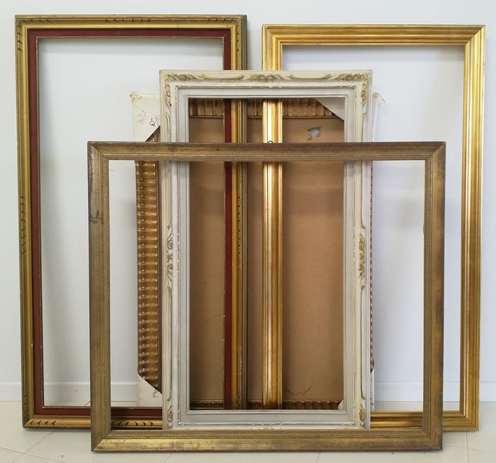 Group of Large Frames (5) - Wood