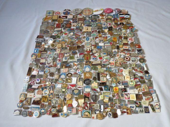 """Mint - Collection """"Great historical events"""" 450 pieces (450) - Aluminium, Bronze"""