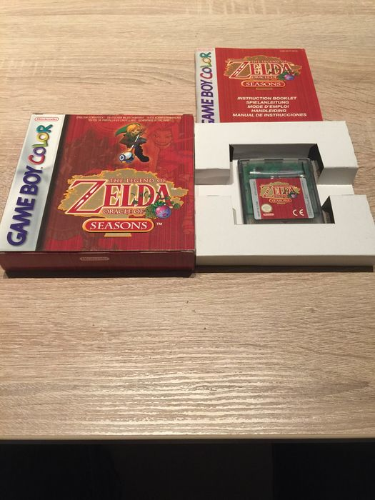 Nintendo GBC Zelda seasons - Video games (1) - In original box