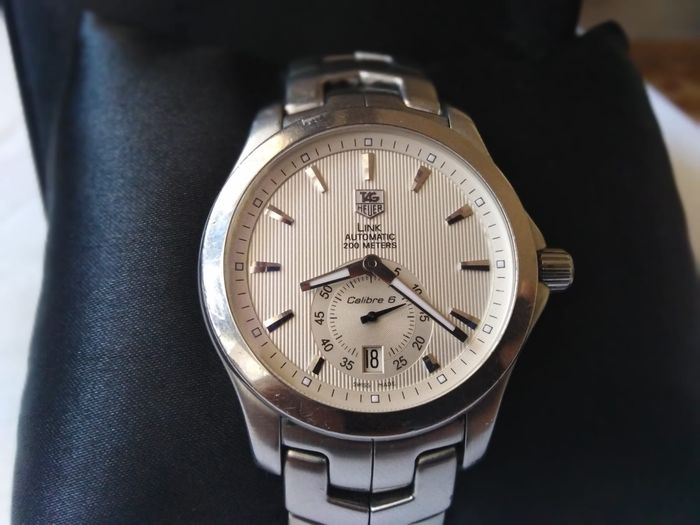 TAG Heuer - Link Automatic 200m Calibre 6  - Ref. WJF211B.RRB4733 - Homme - 2000-2010