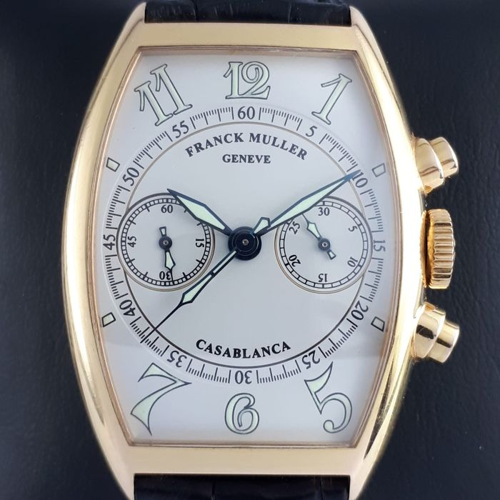 Franck Muller - Master Banker Chronograph Automatic 18 K yellow Gold  - 5850 CC C - Homme - 2000-2010