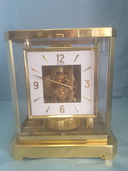 Atmos clock - gold-plated brass - Second half 20th century