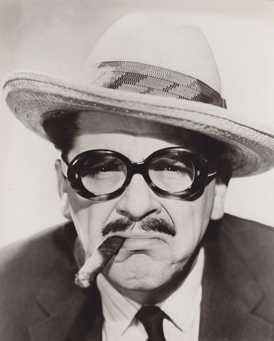Unknown/Houston Post  - (2x) Groucho Marx , 1930's/ 50's