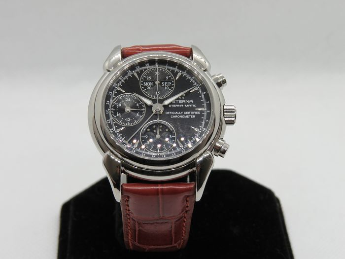 Eterna - 1948 Moonphase Chronograph - 8515.41.10.1237 - Herren - 2011-heute
