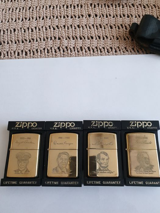 Zippo - Lighter - Complete collection of 4