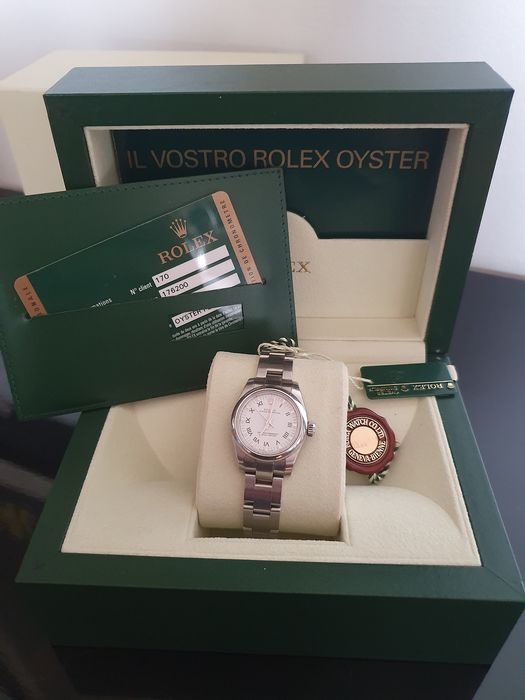 Rolex - Oyster Perpetual Lady - 176200 - Women - 2000-2010