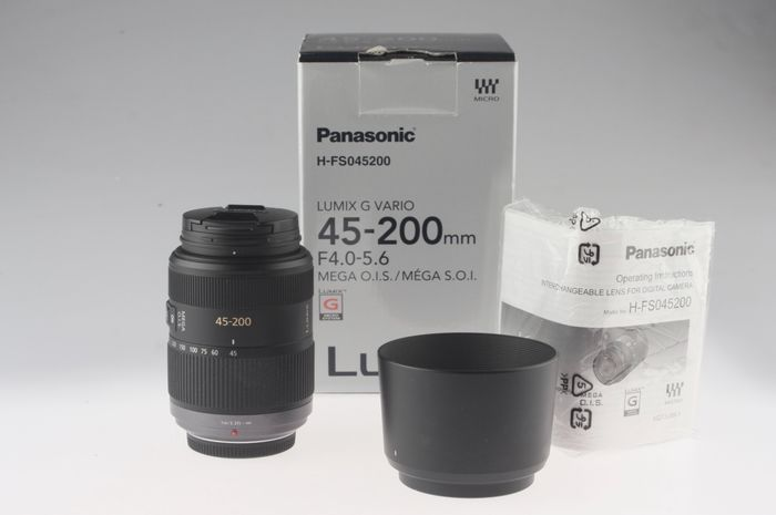 Panasonic Lumix G Vario 45-200mm 1:4,0-5,6