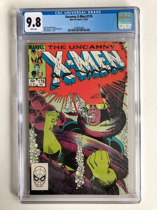 X-men #176  - CGC Graded 9.8!! - Extremely High Grade!!! - Softcover - First edition - (1983)