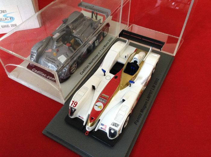 Spark - 1:43 - ref. #SCCN01 Cadillac Northstar LMP900 #1 Le Mans 2000 -- ref. #SCPZ04 Panoz LMP07 #19 Le Mans 2002 - excellent quality -- limited edition