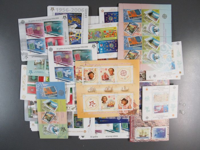 Europe - CEPT blocks/mini sheets per 20 pieces 28 different collection