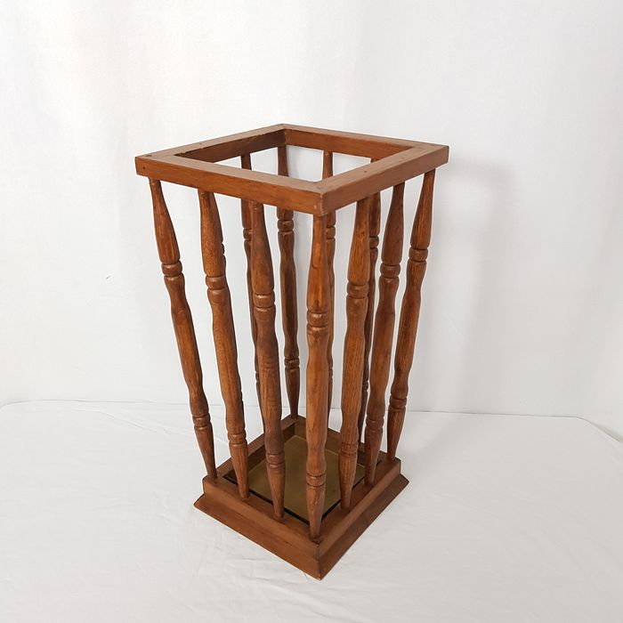 Classic Umbrella stand/walking sticks holder - Wood