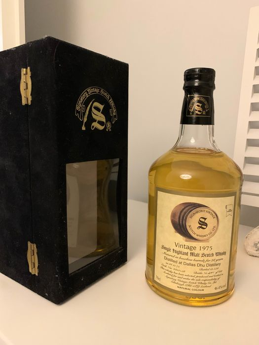 Dallas Dhu 1975 28 years old Cask nos. 2355 + 58  - Signatory Vintage - 70cl