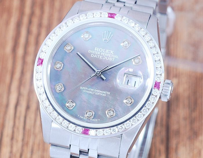 Rolex -  Oyster Perpetual DateJust  - 16014 - Herre - 1980-1989