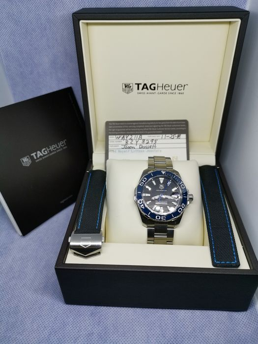 TAG Heuer - Aquaracer 300M Calibre 5 - Ref.  WAY211B - Unisex - 2018